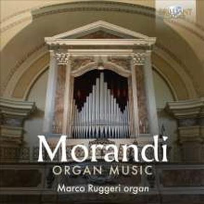 모란디: 오르간 작품집 (Morandi: Works for Organ) (2CD) - Marco Ruggeri