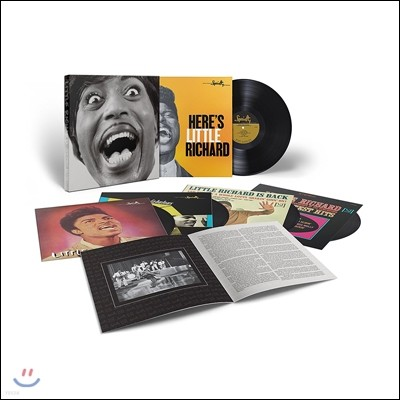 Little Richard (리틀 리차드) - Mono Box:The Complete Specialty And Vee-Jay Albums (스페셜티 & 비제이 레이블 모노 전집 박스세트) [5LP]