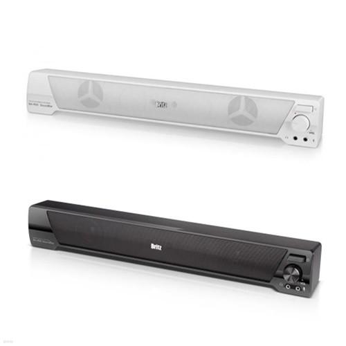 브리츠 사운드바 스피커 BA-R90 SoundBar (보조받침 고무패드 제공 / 정격출력 6W / 마이크 & 헤드폰 단자 / USB전원)