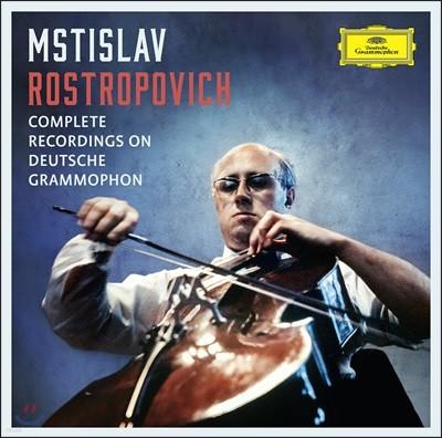 로스트로포비치 도이치 그라모폰 전집 박스세트 (Mstislav Rostropovich Complete Recordings on Deutsche Grammophon)