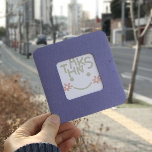 럭셔리 포토 스탠드카드-thanks