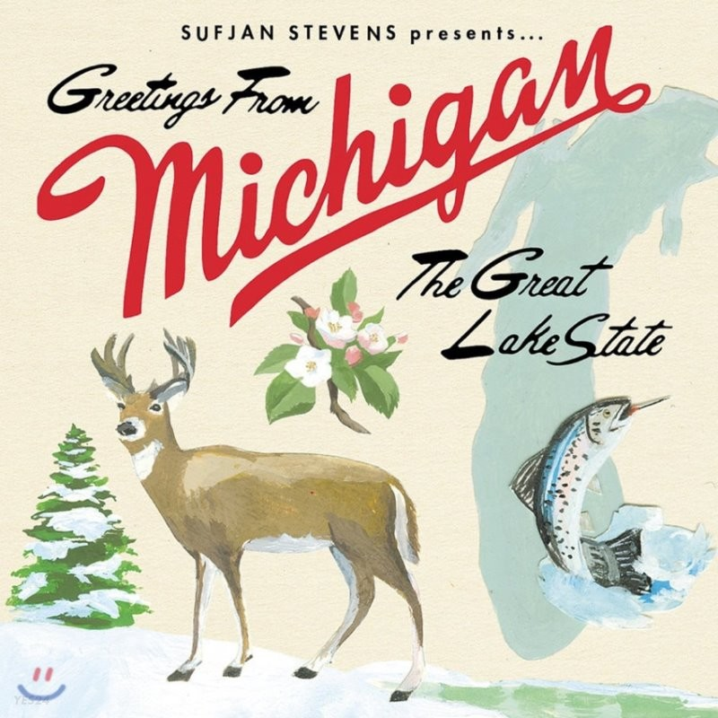 Sufjan Stevens - Greetings From Michigan The Great Lake State 수프얀 스티븐스 정규 3집 [2LP]