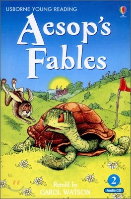 Usborne Young Reading Audio Set Level 2-02 : Aesop's Fables (Book & CD)