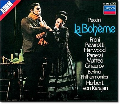 Luciano Pavarotti / Mirella Freni 푸치니 : 라 보엠 - 파바로티, 카라얀