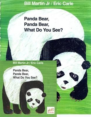 [노부영]Panda Bear, Panda Bear, What Do You See? (Board Book & CD Set)