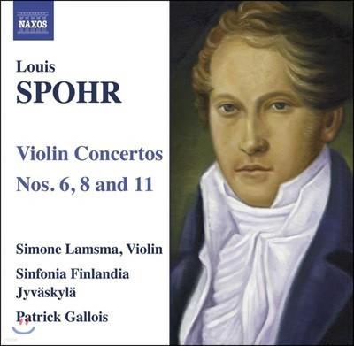 Simone Lamsma 슈포어: 바이올린 협주곡 6,8,11번 (Spohr : Violin Concertos Nos. 6,8,11)