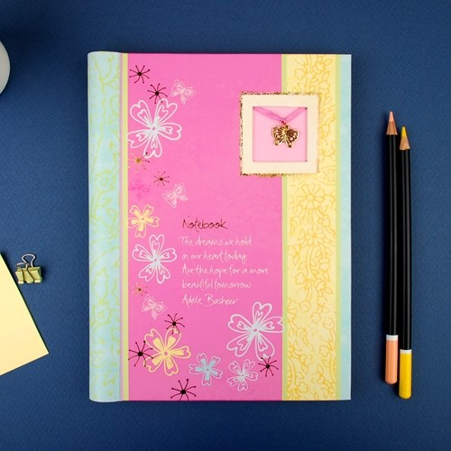 Keepsake Pink - Notebook A5 (ISKE025)