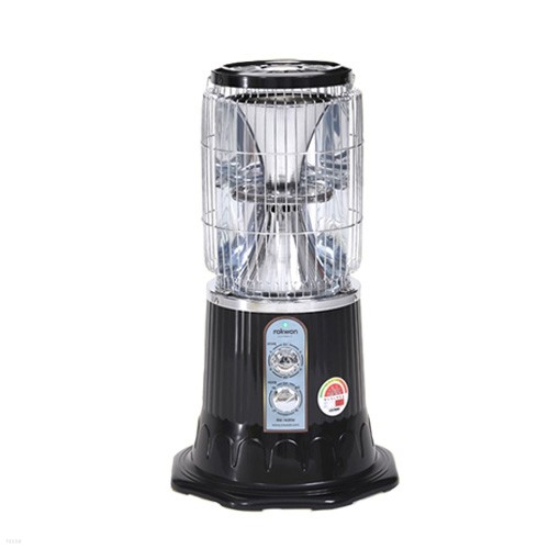 [록원] 전기스토브 블랙 (RW-1400W/전기난로/전기히터)