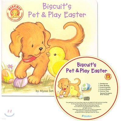 Biscuit's Pet & Play Easter (Book & CD)