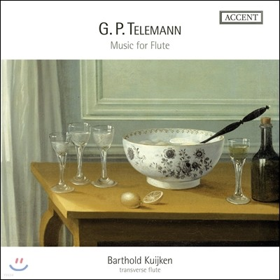 Barthold Kuijken 텔레만: 플루트를 위한 독주곡과 실내악곡들 - 플루트를 위한 판타지아 외 (Telemann: Music for Flute) 바르톨트 카위컨 / 지히스발트 카위컨
