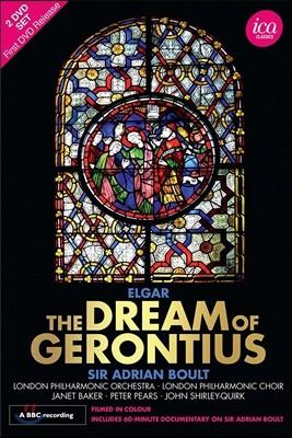 Adrian Boult / Janet Baker 에드워드 엘가: 오라토리오 '제론티우스의 꿈' (Edward Elgar: The Dream Of Gerontius) 자넷 베이커, 아드리안 불트, 런던 필하모닉