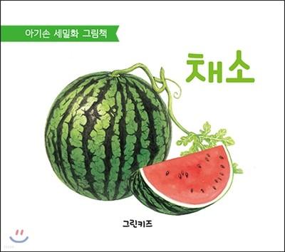 아기손 세밀화 그림책 : 채소