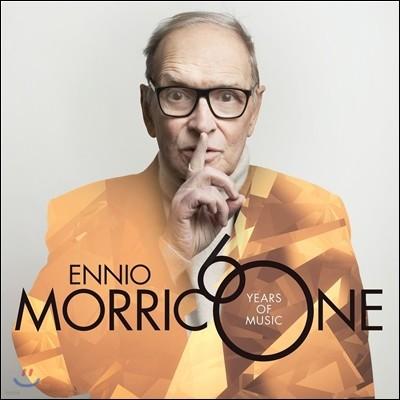 Ennio Morricone 엔니오 모리꼬네 60 - 데뷔 60주년 기념 베스트 음반 (60 Years of Music) [CD+DVD Deluxe Edition]