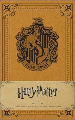 Harry Potter: Hufflepuff Ruled Pocket Journal