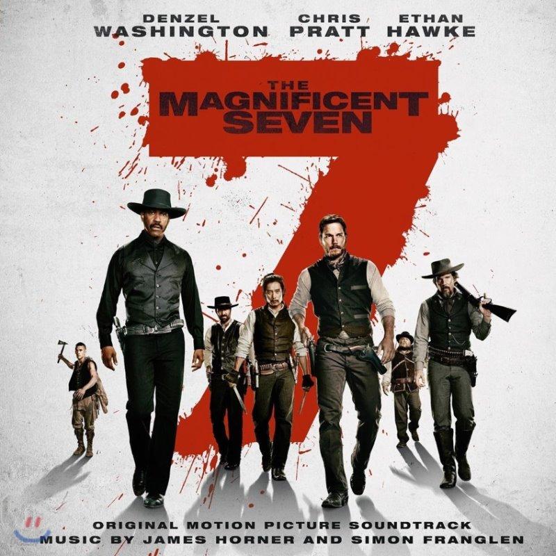 매그니피센트 7 영화음악 (The Magnificent Seven OST) [레드 컬러 2LP]