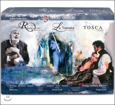 Zubin Mehta 베르디: 라 트라비아타, 리골레토 / 푸치니: 토스카 (Verdi: La Traviata, Rigoletto / Puccini: Tosca)