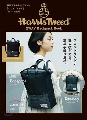 Harris Tweed 2WAY Backpack Book