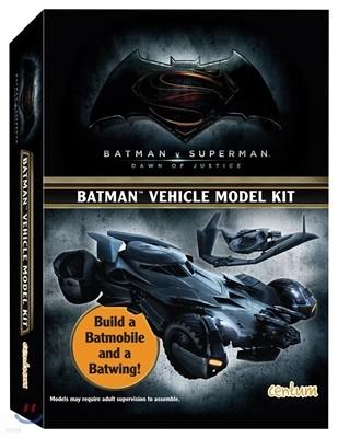 배트카 & 배트윙 페이퍼 토이 만들기 책 Batman Vehicle Model Kit