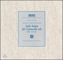 Pierre Fournier 바흐: 무반주 첼로 모음곡 전곡집 - 피에르 푸르니에 (J.S. Bach: The 6 Cello Suites BWV1007-1012) [3LP]
