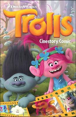 드림웍스 시네스토리 코믹 : 트롤 Dreamworks Trolls Cinestory Comic