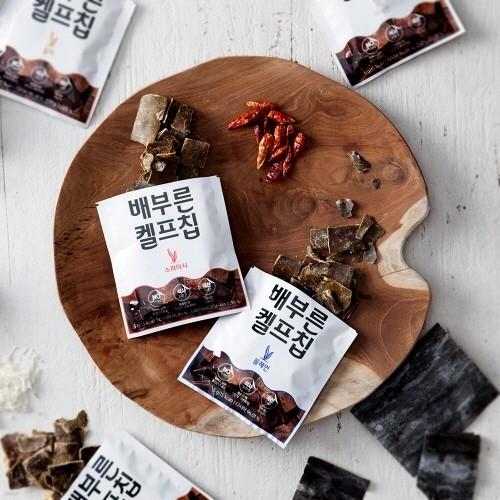 [무료배송] 국내산 다시마로 만든 배부른 켈프칩 버라이어티팩(5gx10팩)