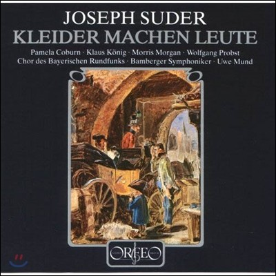 Uwe Mund / Pamela Coburn 요제프 주더: 오페라 '옷이 사람을 만든다' (Joseph Suder: Kleider Machen Leute) 우베 문트, 밤베르크 교향악단 [3LP]