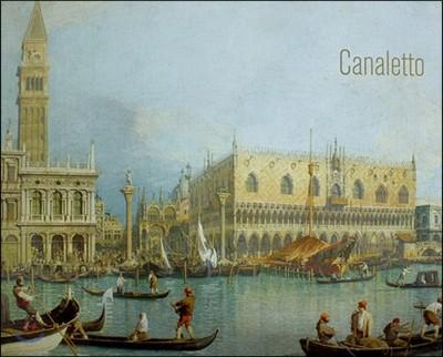 카날레토 : 스칼라 명화 포스터 5종 세트 (545 x 430 mm)