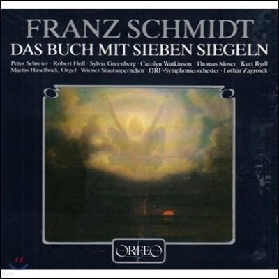 Lothar Zagrosek / Peter Schreier 프란츠 슈미트: 오라토리오 '일곱 봉인의 책' (Franz Schmidt: Das Buchmit Sieben Siegeln) 페터 슈라이어, 로타르 차그로제크 [2LP]