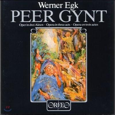 Heinz Wallberg / Roland Hermann 베르너 에크: 오페라 '페르 귄트' (Werner Egk: Peer Gynt) 하인츠 발베르크, 롤란트 헤르만, 바이에른 방송 교향악단 [3LP]
