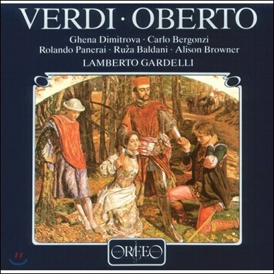 Lamberto Gardelli / Ruza Baldani 베르디: 산 보니파치오의 백작 오베르토 (Verdi: Oberto) 람베르토 가르델리, 루자 발다니, 뮌헨 방송 교향악단 [3LP]