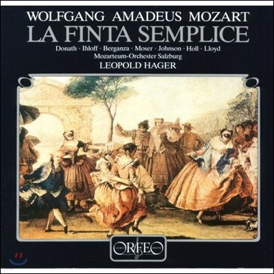 Helen Donath / Leopold Hager 모차르트: 오페라 부파 '가짜 여정원사' (Mozart: La Finta Semplice) [4LP]