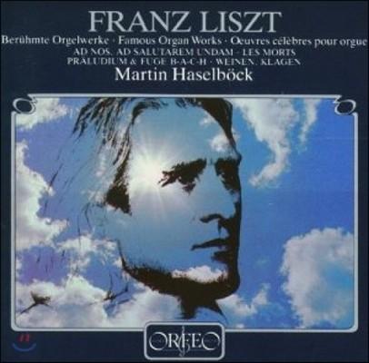 Martin Haselbock 리스트: 오르간 작품 전곡집 (Liszt: The Complete Works for Organ) 마르틴 하젤뵈크 [6LP]