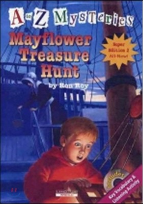 A to Z Mysteries Super Edition 2 : Mayflower Treasure Hunt (Book+CD)