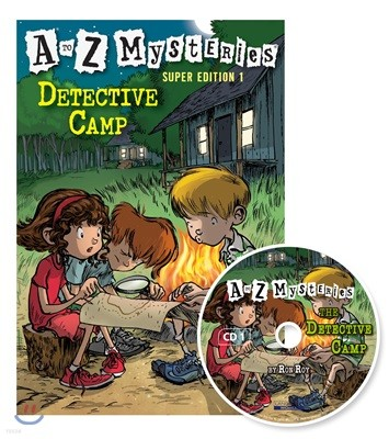 A to Z Mysteries Super Edition 1 : Detective Camp (Book+CD)