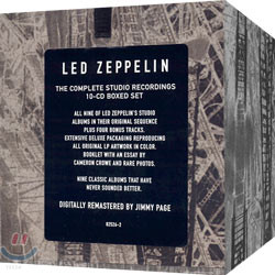 Led Zeppelin - The Complete Studio Recordings 10CD Boxed-Set