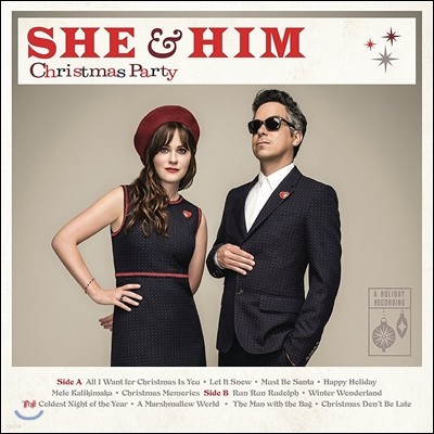 She & Him (쉬 앤 힘) - Christmas Party (크리스마스 파티) [LP]