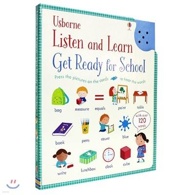 Usborne Listen and Learn Get Ready for School 어스본 유치원, 학교 생활 준비 영어 사운드북 (예비 초등)