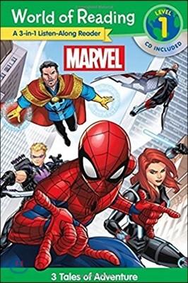 Marvel A 3-1 Listen-Along Reader