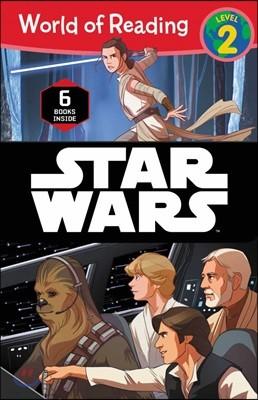 World of Reading Level 2 : Star Wars Boxed Set