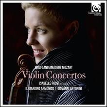 Isabelle Faust 모차르트: 바이올린 협주곡 1-5번 전곡집, 론도, 아다지오 (Mozart: Complete Violin Concertos) 이자벨 파우스트