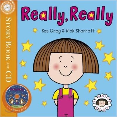 Daisy : Really, Really : Story Book with CD