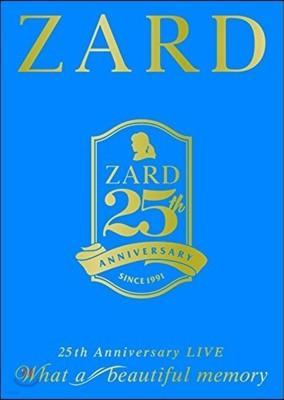 "Zard (자드) - ZARD 25th Anniversary LIVE ""What a Beautiful Memory"" 2016 [3DVD]"