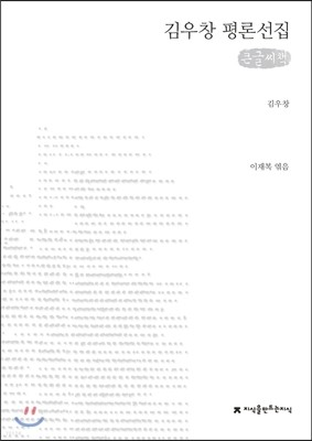 김우창 평론선집 큰글씨책