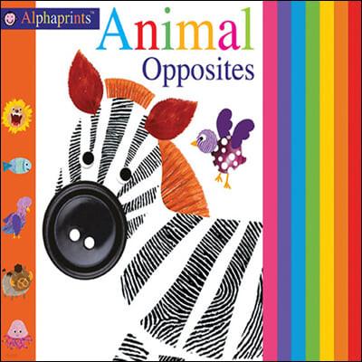 [스크래치 특가]Alphaprints: Animal Opposites