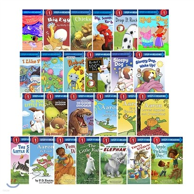 Step Into Reading Step1 25 Book Set Yes24