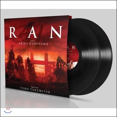 구로사와 아키라의 '란' 영화음악 (Ran OST by Toru Takemitsu 토루 타케미츠) [2 LP]
