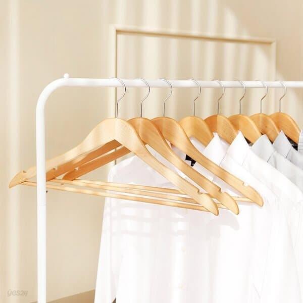 [홈앤하우스] 프리미엄 원목옷걸이 30p