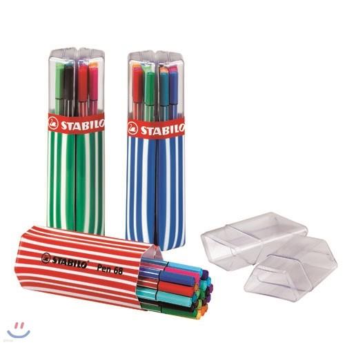 [STABILO]Pen68 Premium fibre-tip pen 20C-01 트윈팩