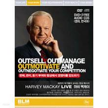 [DVD] Harvey Mackay - 하비 맥케이 : 세계의 대가 영상메세지 8편 (2DVD+CD/미개봉)