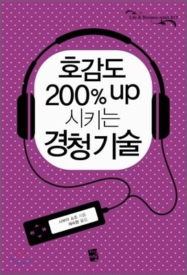 호감도 200% up시키는 경청 기술